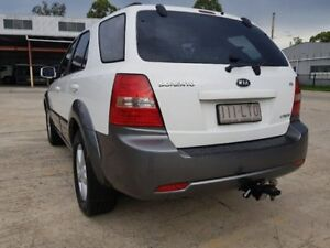 2008 Kia Sorento BL EX Wagon 4dr Spts Auto 5sp 4x4 2.5DT White Sports Automatic Wagon