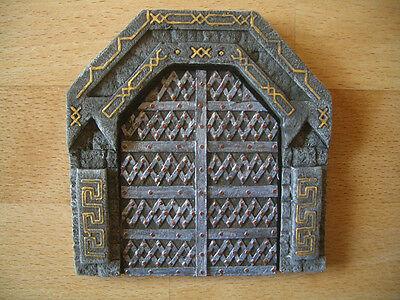 Dwarven Gate Thomarillion Unpainted Resin Terrain D&D Dwarven Forge