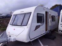 2011 Elddis Avante 564 4 Berth Rear washroom Touring Caravan.
