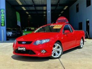 2010 Ford Falcon FG XR8 Ute Super Cab Red 6 Speed Sports Automatic Utility Slacks Creek Logan Area Preview