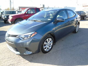 2015 Toyota Corolla LE Sedan/Heated Seats/Back up Camera
