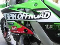 KAWASAKI KXF 250 2015 EFI MX MOTOCROSS BIKE @ RPM OFFROAD LTD