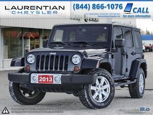 2013 Jeep Wrangler Unlimited Sahara-ACCIDENT FREE+LEATHER