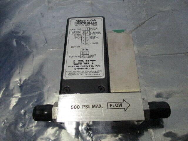 UNIT UFC-1100 Mass Flow Controller, MFC, NH3, 5 SLPM, 421258