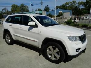 2012 Jeep Grand Cherokee WK MY2012 Laredo White 5 Speed Sports Automatic Wagon Kippa-ring Redcliffe Area Preview