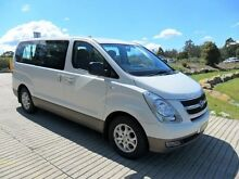 2010 Hyundai iMAX SLX 8 SEATER SHUTTLE White Automatic Wagon Lansvale Liverpool Area Preview
