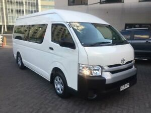 2016 Toyota HiAce TRH223R MY16 Commuter White 6 Speed Automatic Bus North Strathfield Canada Bay Area Preview