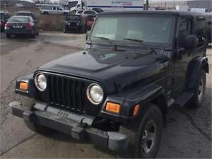 2003 Jeep TJ Sport 4WD Rocky Mountain
