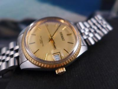 Beautiful Fluted Bezel Classic Tugaris Gold Plated Date 33mm Ladies Automatic for sale  Shipping to India