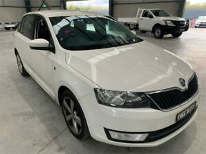 2014 Skoda Rapid NH MY15 Ambition Spaceback White 6 Speed Manual Hatchback Boolaroo Lake Macquarie Area Preview