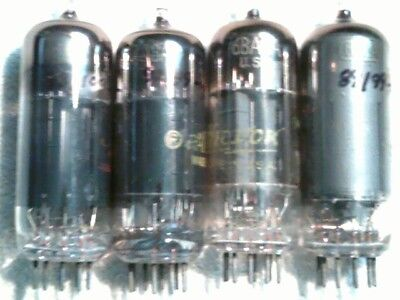 Tube 4ea 6BA8 tstd amp radio amplifier ham
