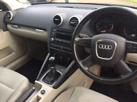AUDI A3 - Good condition, Low miles, New tyres, Two Keys, 7 Months until next MOT