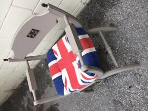 The UNION JACK chair !