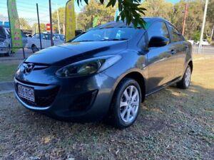 2010 Mazda 2 DE10Y1 MY10 Maxx Grey 5 Speed Manual Sedan Clontarf Redcliffe Area Preview