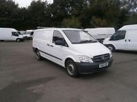 Mercedes-Benz Vito LWB 110 CDI Van DIESEL MANUAL WHITE (2012)