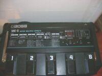 boss me 5 pedal