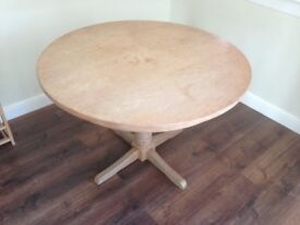 Wooden Dining Table (round - 110cm)