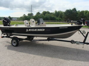 Legend Fishing Package Mint Condition 40 hrs