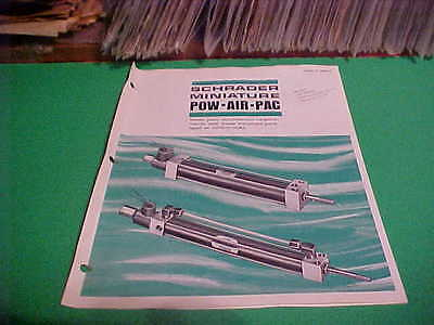 1970 Sweets Equipment Catalog Brochure Scovill Schrader Miniature Pow-air-pacs