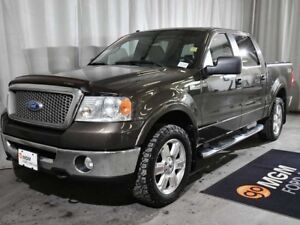 2008 Ford F-150 Lariat 4x4 Crew Cab 5.5' Styleside 138.5 in. WB