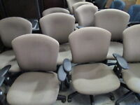 Quantity of Brown Office Chairs