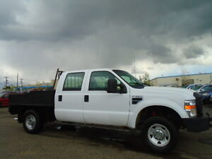 2009 Ford F-250 XL-CREWCAB 4X4--LEATHER--FLATDECK--6 SPEED