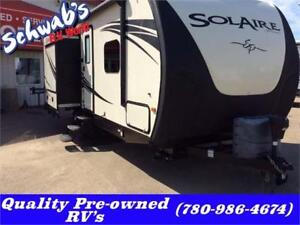 2014 PALOMINO SOLAIRE ECLIPSE 247RKES Ultra-Light