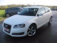 WANTED!!! white audi a3 -3door under 100k miles