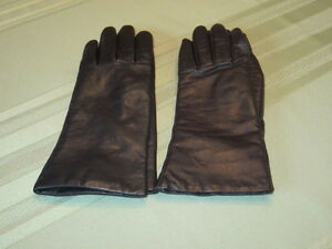 Two pair of leather gloves