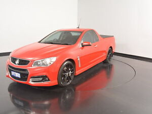 2014 Holden Ute VF MY14 SS V Ute Redline Red 6 Speed Manual Utility Victoria Park Victoria Park Area Preview