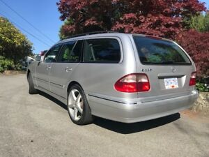 2002 Mercedes E320 Wagon 4-matic