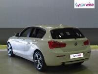 2015 BMW 1 Series 118i Sport 5dr Petrol white Manual