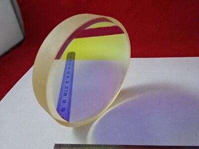 Optical Flat Zerodur Dichroic Mirror 110 Wave Laser Optics As Pictured 6-a-24