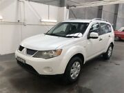 2007 Mitsubishi Outlander ZG LS White 6 Speed CVT Auto Sequential Wagon Beresfield Newcastle Area Preview