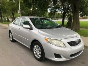 2010 TOYOTA COROLLA  , 104.000 KM , AUTOMATIQUE  , AIR CLIMATISE