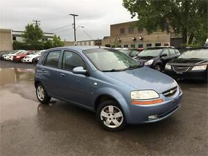 CHEVROLET AVEO LS 2007 AUTOMATIQUE/4 CYL/1.5 L/171 771 KM !!