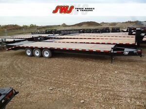 NEW 8.5X30' Pintle Trailer