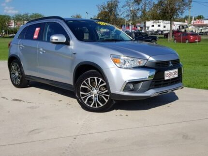 2016 Mitsubishi ASX XC MY17 LS 2WD Silver 6 Speed Constant Variable Wagon Gympie Gympie Area Preview