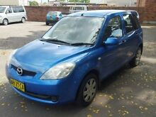 2005 Mazda 2 DY Neo Blue 5 Speed Manual Hatchback Georgetown Newcastle Area Preview