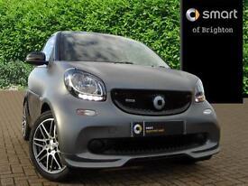 smart fortwo coupe BRABUS PREMIUM (grey) 2016-11-03