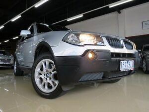 2004 BMW X3 E83 3.0I Sterling Silver 5 Speed Auto Steptronic Wagon