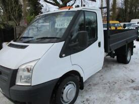 2014 Ford Transit 2.2 TDCI SINGLE CAB TIPPER NO VAT 60000 MILES GUARANTEED