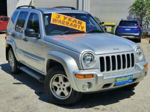 2003 Jeep Cherokee KJ MY2003 Sport Silver 4 Speed Automatic Wagon Mayfield East Newcastle Area Preview