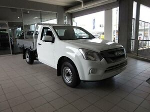 2016 Isuzu D-MAX SX Splash White Manual Single Cab Chassis Thornleigh Hornsby Area Preview