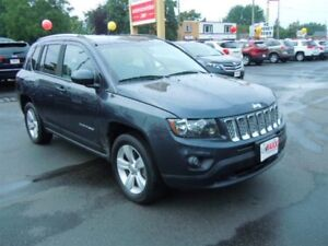 2014 JEEP COMPASS NORTH 4X4 - LEATHER INTERIOR, SATELLITE RADIO,