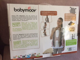 Babymoov baby carrier - nearly new, still in box, bargain price £38.00 selling new for £80+ on ebay