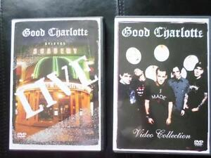 Good Charlotte Live & Good Charlotte Video Collections Music DVD London Ontario image 1