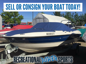 WE BUY AND CONSIGN USED BOATS! SELL YOUR BOAT TODAY!