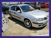2002 Nissan Pulsar N16 ST Silver 4 Speed Automatic Hatchback Lansvale Liverpool Area Preview