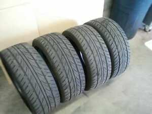 4 AKINA ST-09 195 55 15 SUMMER ALL SEASON TIRES PNEUS ETE